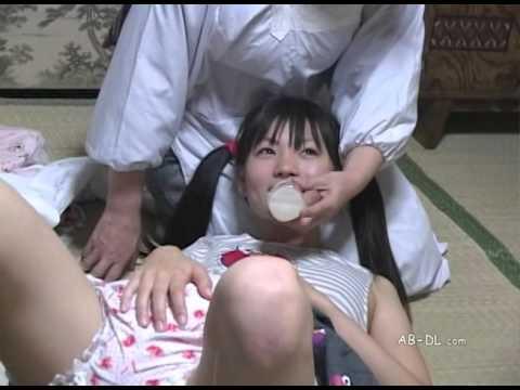Adult baby girl in diaper
