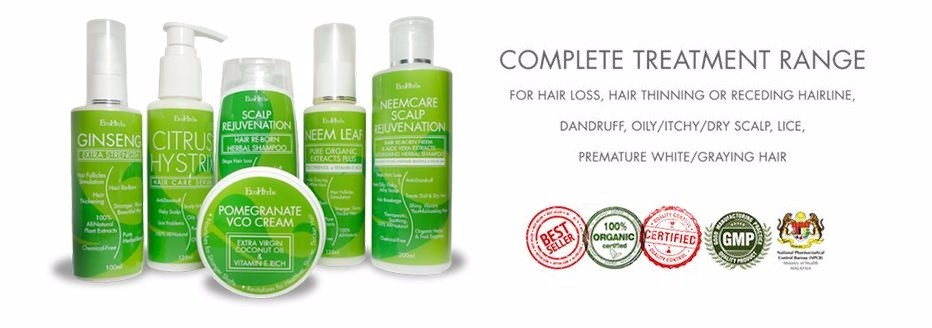 Ecoherbs Ginseng Extra Strength Complete Set For Hair Loss/hair ...