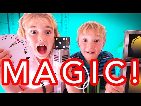Kids Learn Magic Tricks