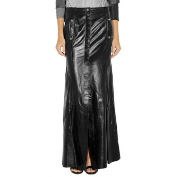 b8c07fa095 designer girls long skirts /nappa leather skirt stylish girls hot mini skirt  ladies long leather