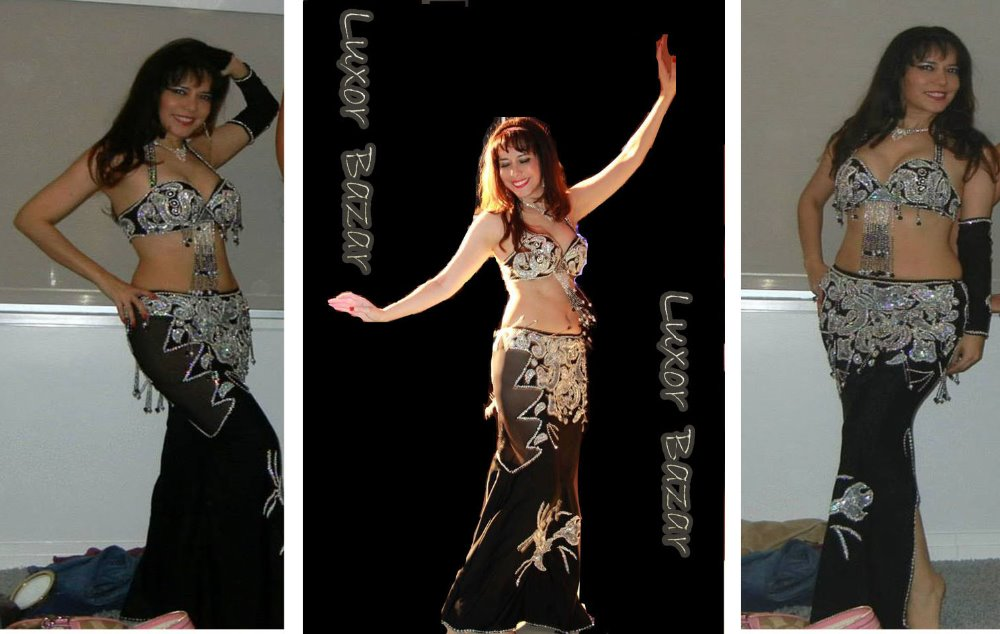 Sexy Egyptian professional belly dance costume, Bellydance Dress Custom-made New (LUX.B.B.3)