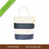 SG 06 11 021 2 - Natural seagrass storage bag, beach bag, straw tote bag made in Vietnam (L16xH14-55)
