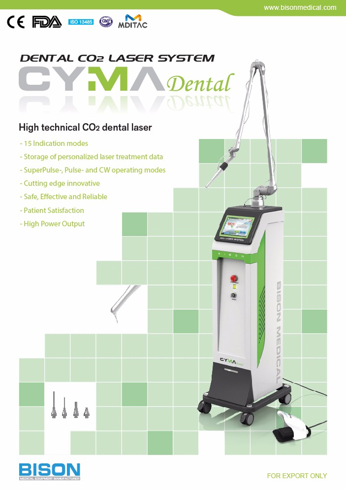 Cyma Dental 10 600nm Dental Co2 Laser Soft Tissue Laser