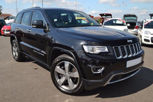 Used RHD Jeep Grand Cherokee 3.0 CRD Limited 2014