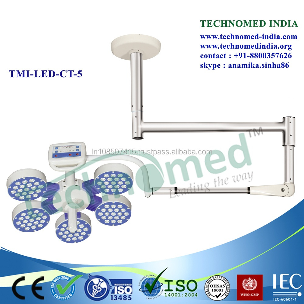 TMI-LED-CT-5 Hospital mobile operationg room led ceiling light v