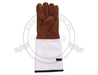 Split Leather Gloves / Mittens / Leather Mittens