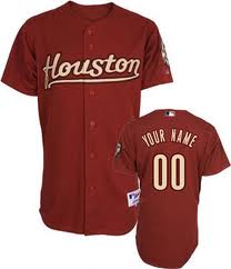 best website 827e6 bb0ad Astros Astros Houston Custom Custom Custom Houston Jerseys ...