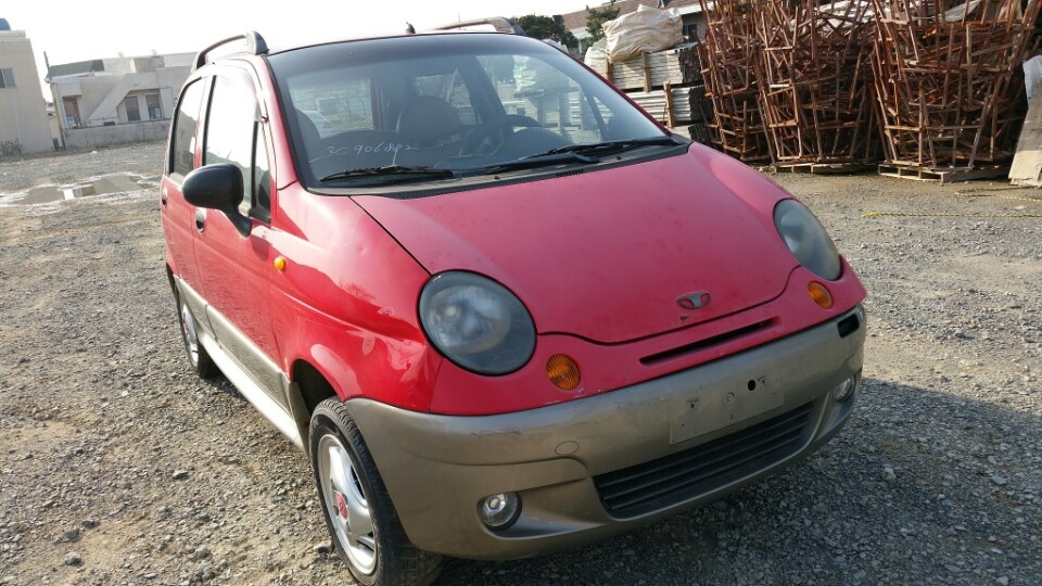 Daewoo Matiz Red 2003