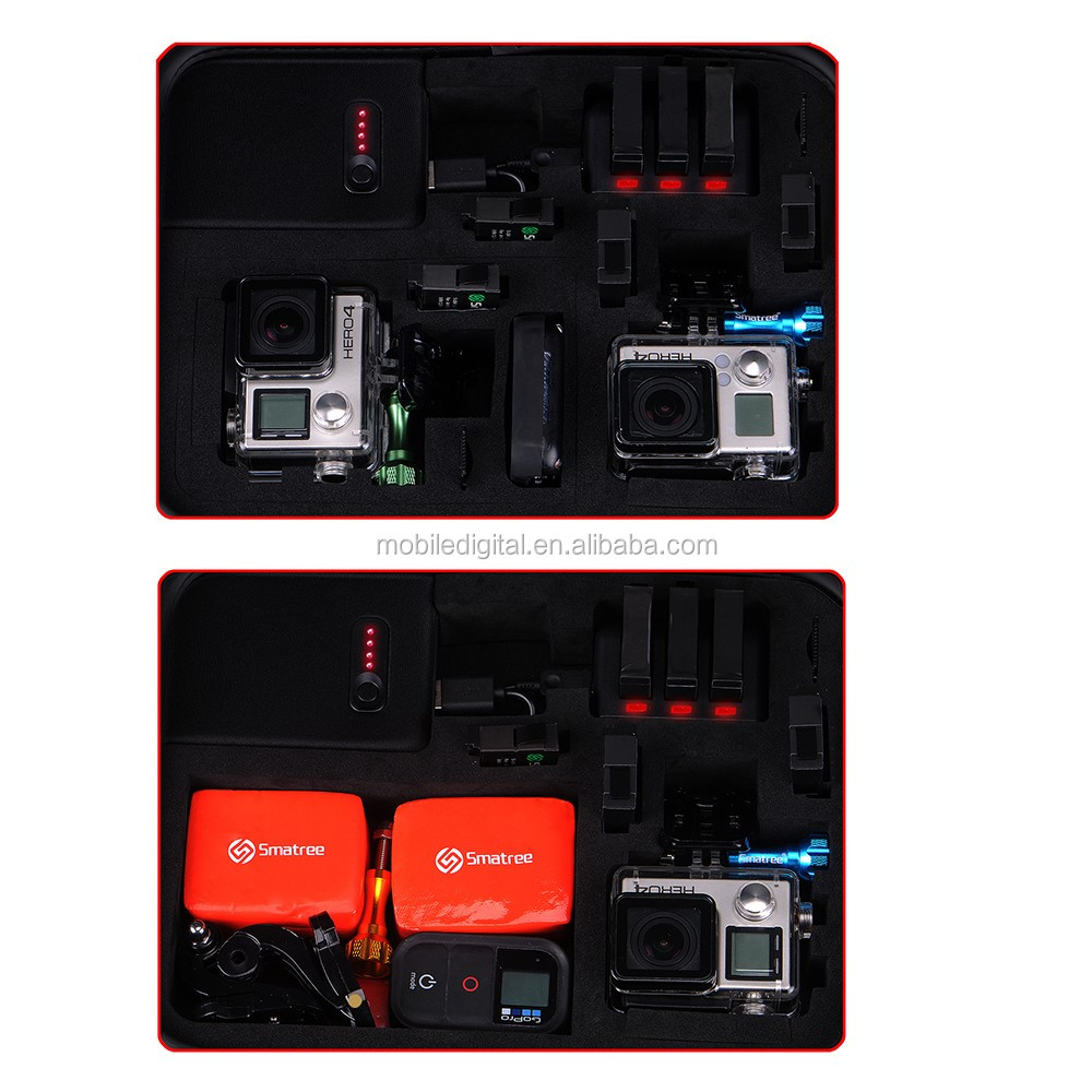 Smatree Power-Case GS260P with Built-in power bank for go pro camera