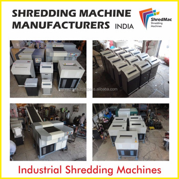 heavy duty shredding machine