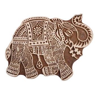 d9c92fab8316 Elephant Shape Vintage Wooden Printing Blocks For Craft  wb-3057 ...