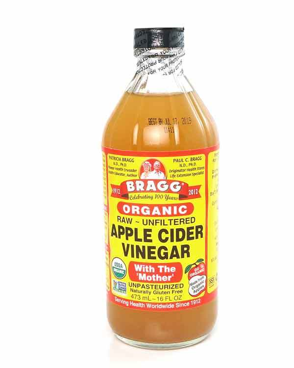 Apple Cider Vinegar, Organic, Bragg, 473 ml