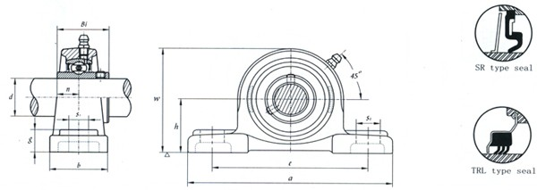 FYH UCP207 Pillow Block Bearing UCP207J