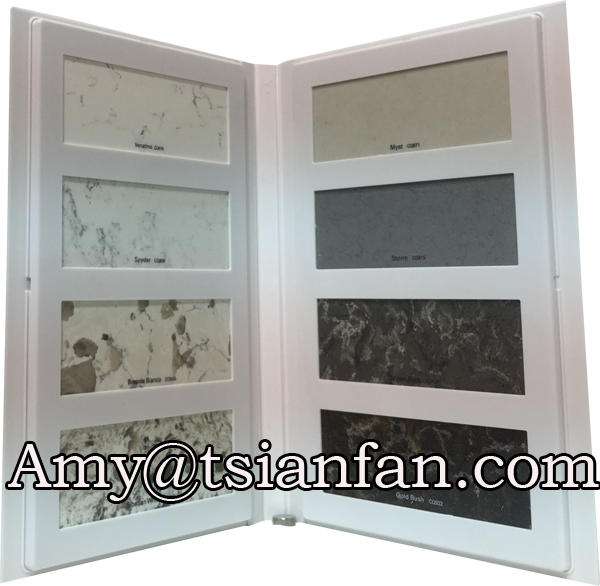 ceramic tile display folder plastics sample display book