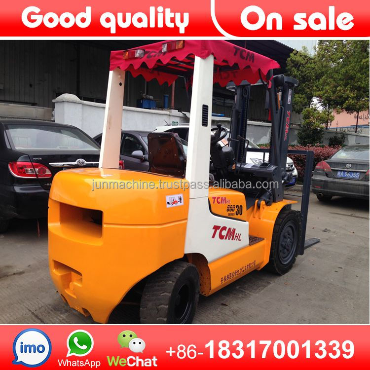 Used Forklift TCM 3ton,new tcm fd30 forklift Made in Japan