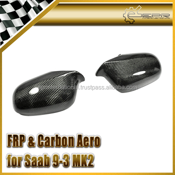 EPR- For SAAB 9-3 MK2 Carbon Fiber Mirror Cover 2pcs