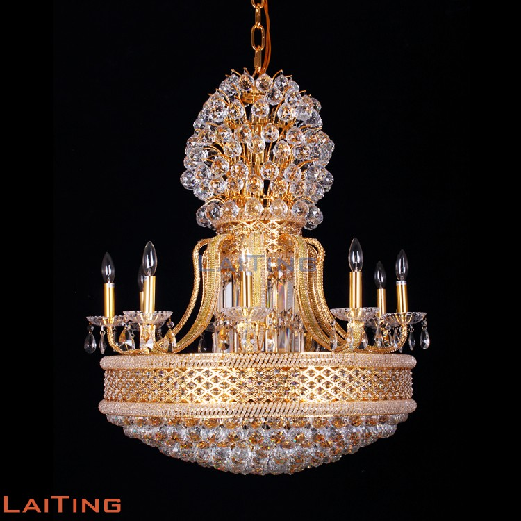 Crystal Chandelier Small Size: Huge Size Crystal Chandelier For Ballroom And Hotel Lobby