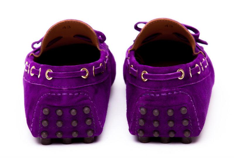d8ec9e93e1f Purple Suede Ladies   Mens Driving Shoes - Buy Mens Driving Shoes ...