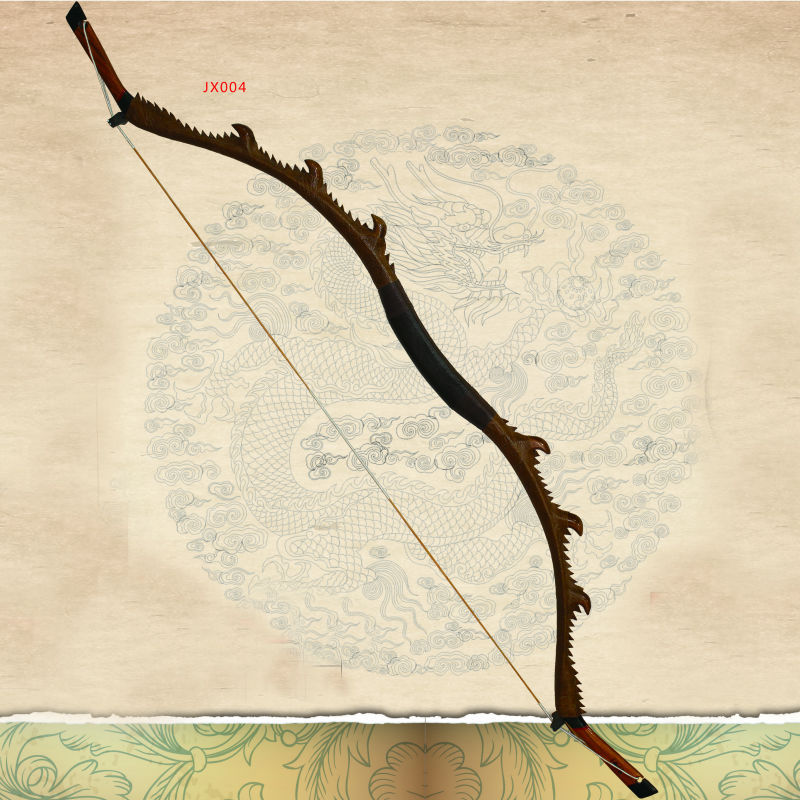 2015 Jx004 Long Traditional Wood Dragon Recurve Bow For ...