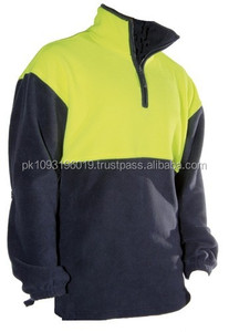 100% polyester polar fleece jacket