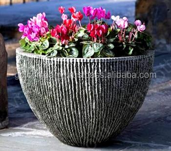 Wholesale Cement Pots Light Concrete Pots Lightweight Planters