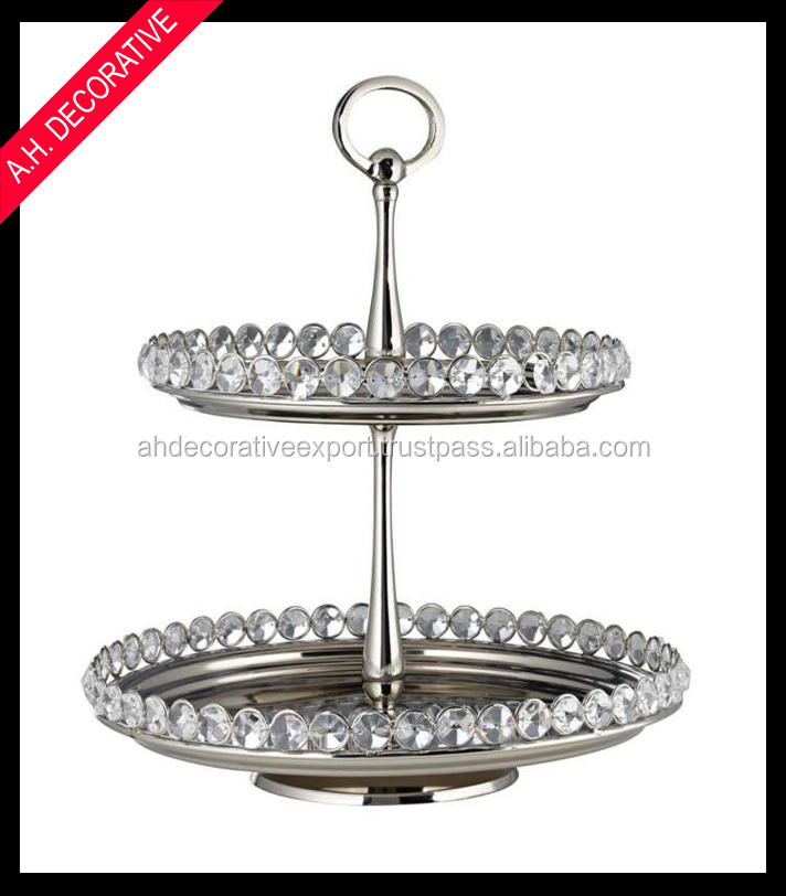 decorative cake stands for wedding cakes 2 cake stand 2 tier silver cake stand 2 tier 3451