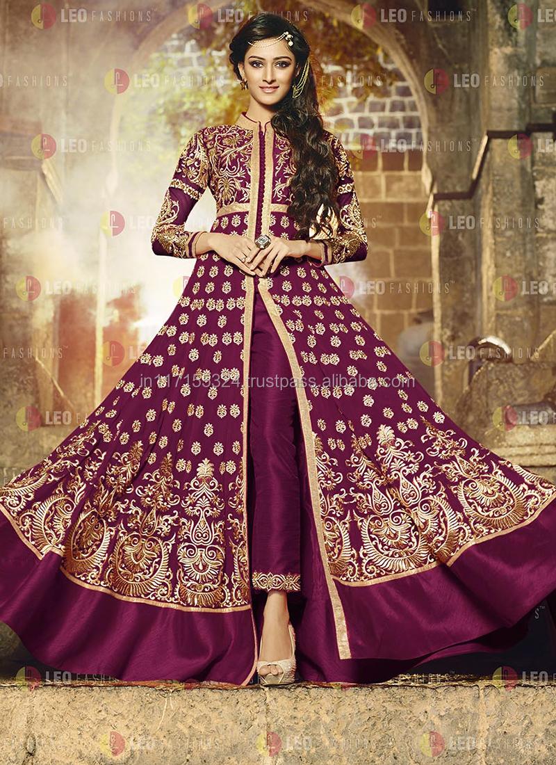 9b37d18c2 2015 design latest collection anarkali full design frock style floor touch  anarkali salwar kameez suits