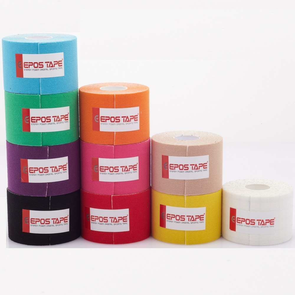 EPOS Sports Tape, 5cm x 5m roll, Latex Free, Waterproof
