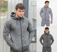 Sports Track Suits 100% Polyester Mens Sport Tracksuit Fleece Tracksuit , High Quality Sweatsuit