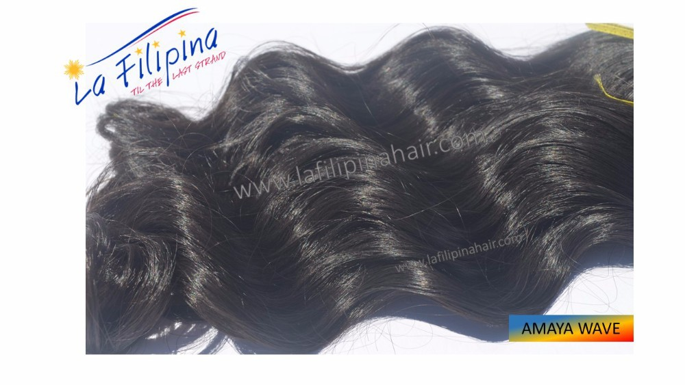 E Grade Quality Class Amaya Wave Filipino Human Hair Extension Buy