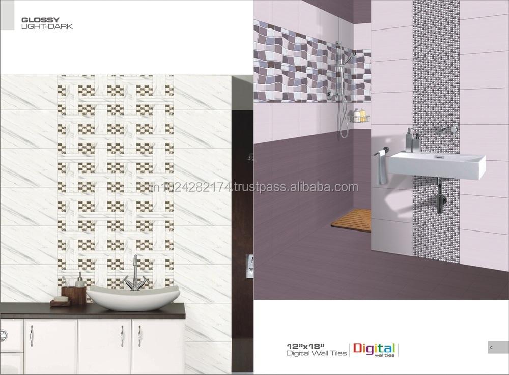 Hot Sale Bathroom 3d Inkjet Digital Ceramic Wall Tiles For Nigeria ...