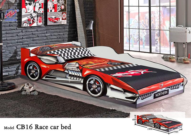hot sale cool boy car bed