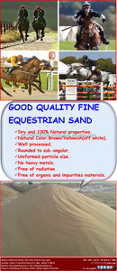 High Quality Sand for Horse Race Track
