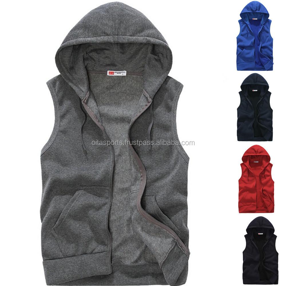 Wholesale Cheap Pullover Fleece Man Half Sleeve Hoody,Best Selling ...
