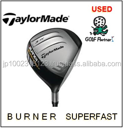 Various types of and low-cost mens driver golf clubs and Used Fairway Wood used Taylor Made BURNER SUPER FAST at reasonable pric