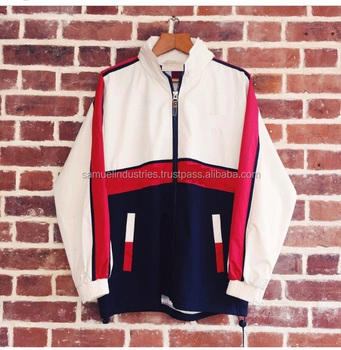 Streetwear White Red Trainer Windbreaker Jacket\Chenille Patches Bomber Jacket \Men's Embroidered Satin Patches Varsity Jacket
