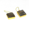 Porcelain Jasper Earring - Gemstone bezel Earring - 18k Gold plated fashion jewelry - IG2801