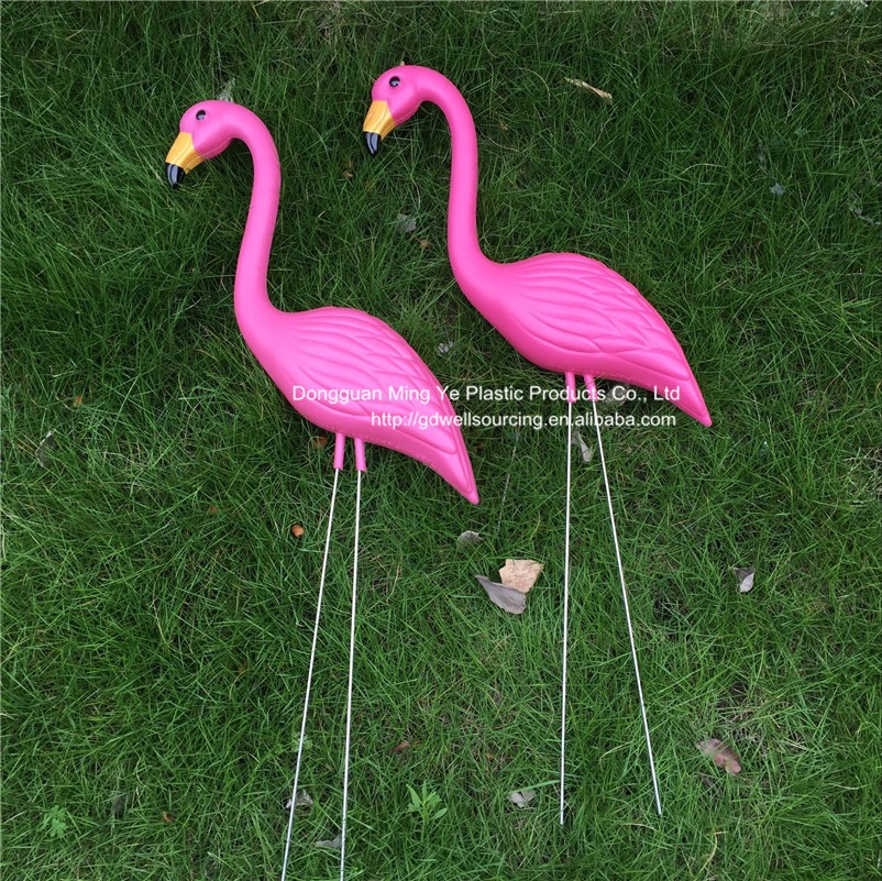 Ornaments Type Plastic Flamingos Home And Garden