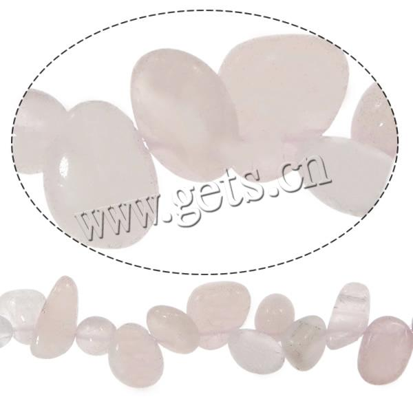 <strong>Natural</strong> Rose Quartz Beads Chips Hole:Approx 1mm Sold Per 15.5 Inch Strand