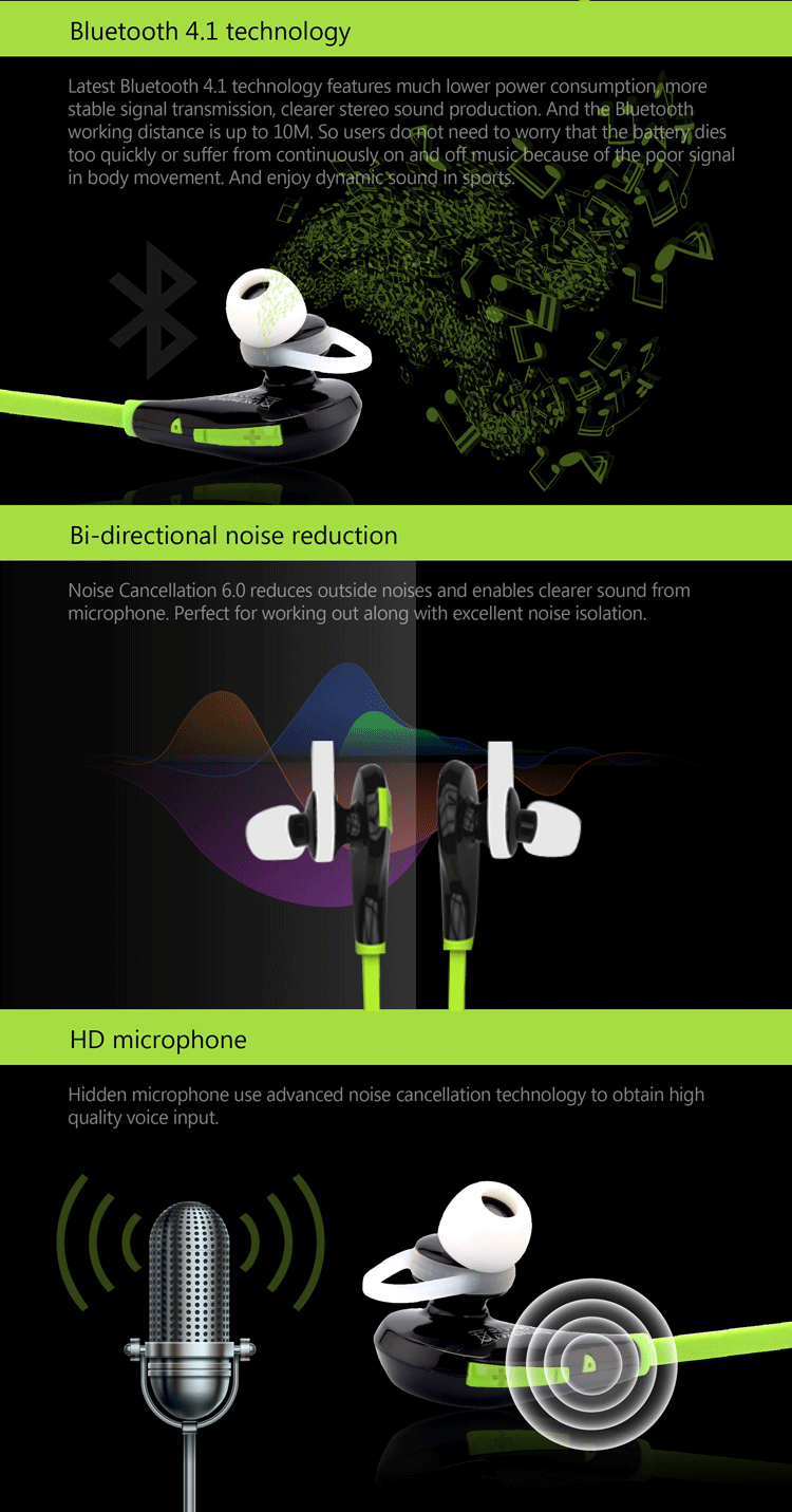 Xhh801 Buy Stereo Bluetooth Headset For Music Earbuds Smart Phones ...