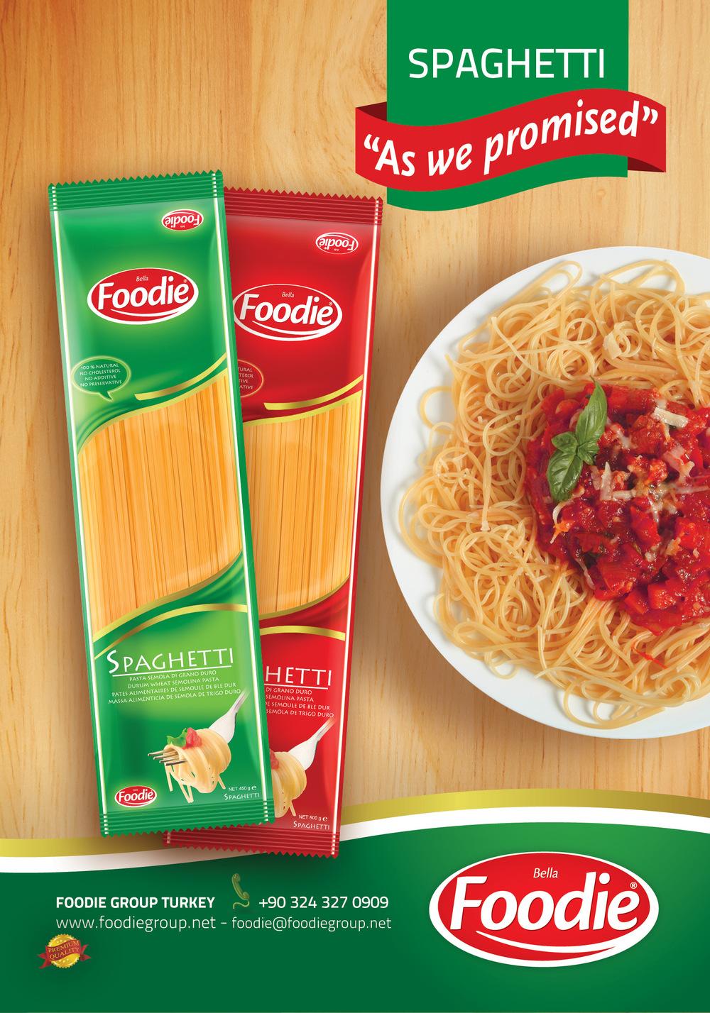 Foodie Spaghetti &...