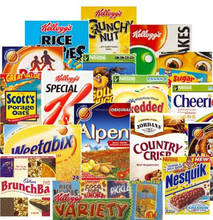 Cereals Kellogg's Available