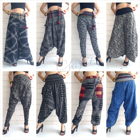Cotton Thai Pants Wholesales Ladies Casual Fashion Summer ...