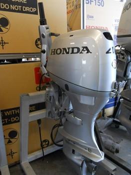 Used honda 40 hp 4 stroke outboard motor engine buy boat for Used honda boat motors