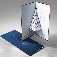 Pop Up luxury Christmas 3D card FS479ng