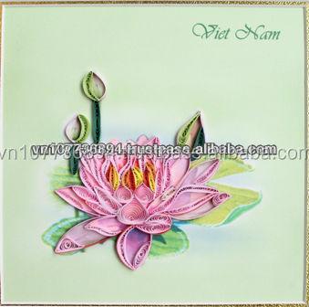 lotus flower picture handmade card buy 3d card pop up handmade