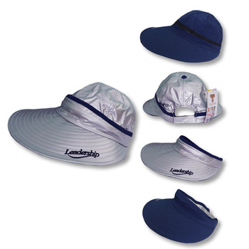 Summer Outdoor Sun UV Protection Cap Reversible Removable Waterproof  Foldable Visor Hat 5a7ae5174f4f