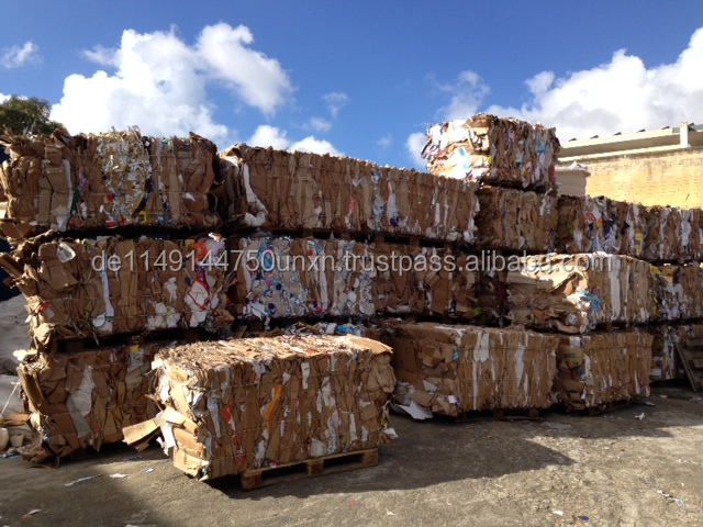 Kraft Mixed OCC 11 Bulk Waste Paper for Sale