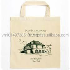 promotional cotton bags cotton shopping bag canvas tote bag with most competitive price