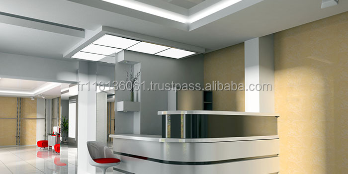 led panel light dalle led 120x30cm 75w smd samsung. Black Bedroom Furniture Sets. Home Design Ideas